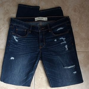 Abercrombie & Fitch Womens Blue Jeans Size 6S